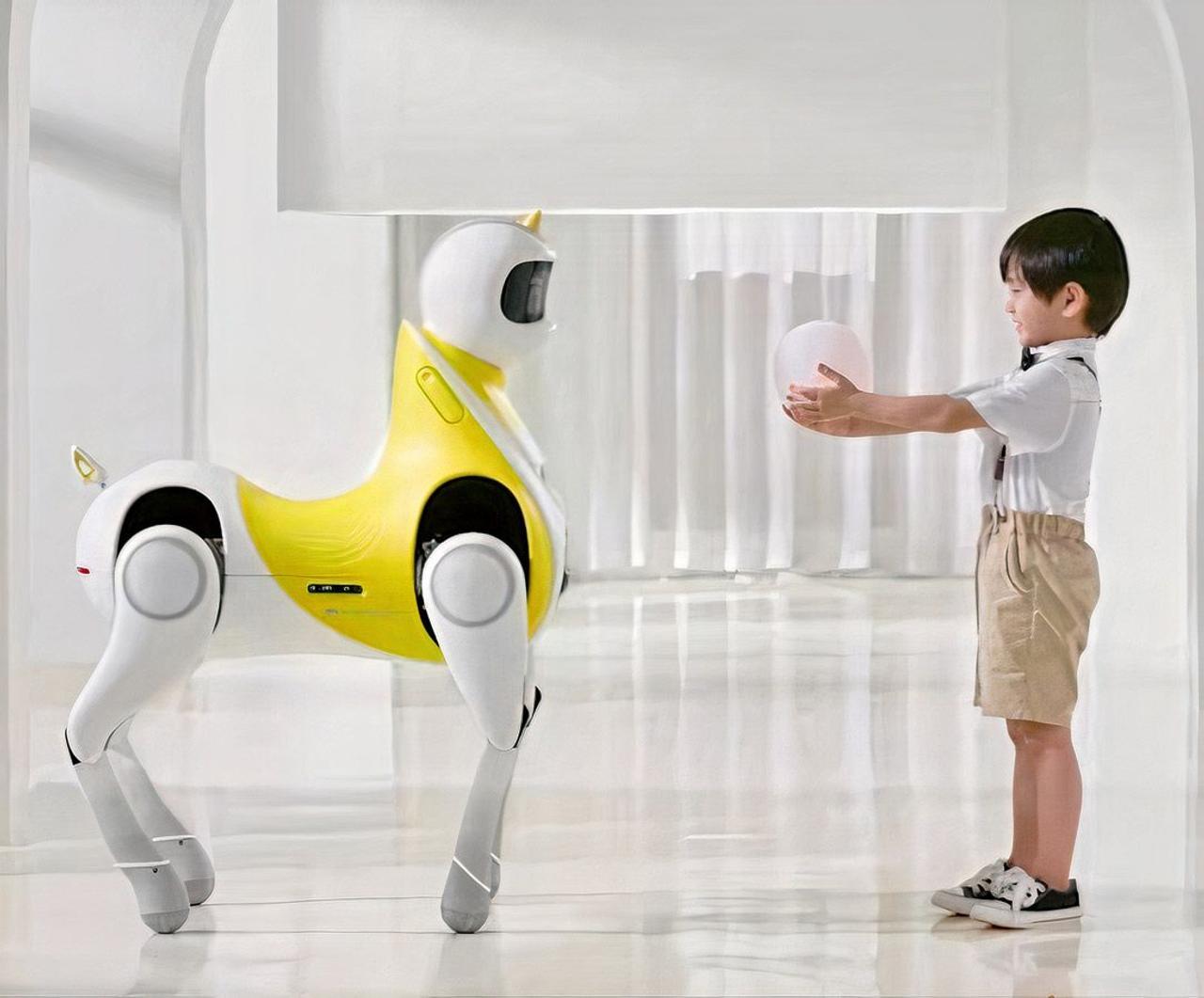 Интеллектуальный робот-пони Xpeng, делает шаг вперед к нашему видению мобильности будущего