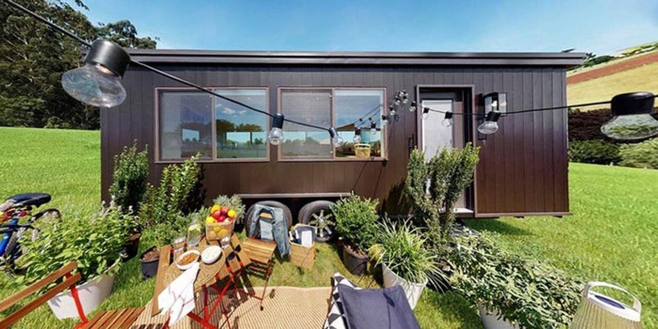 IKEA начала предлагать готовые автономные мини - дома с солнечными панелями